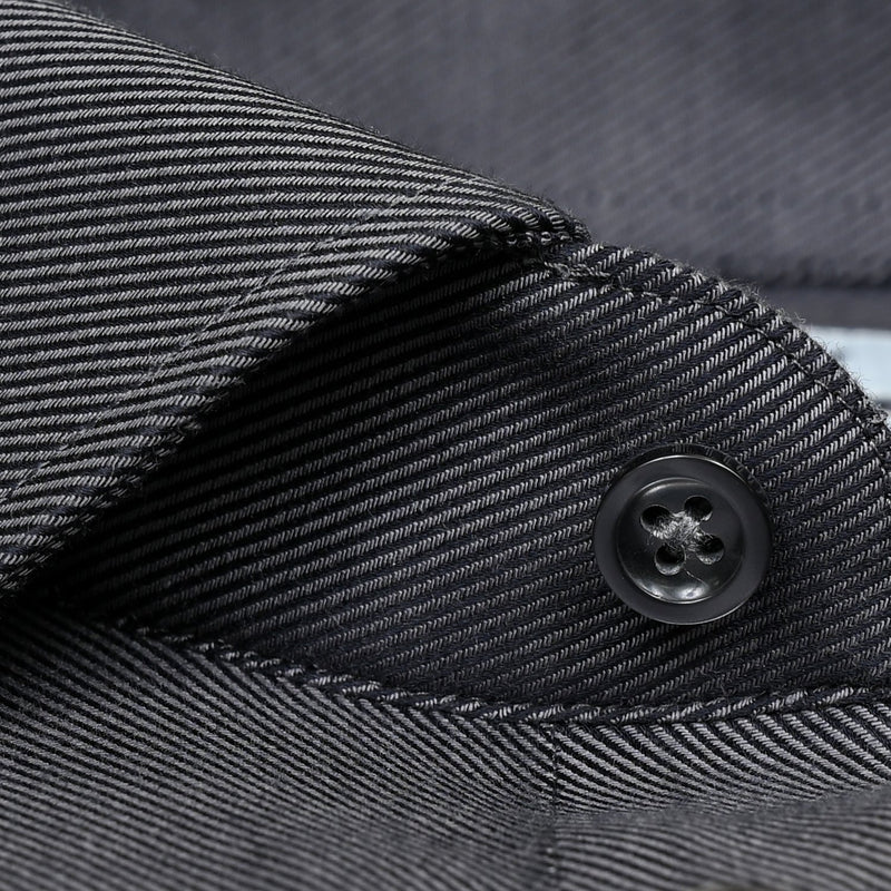 Non-Iron Charcoal Twill