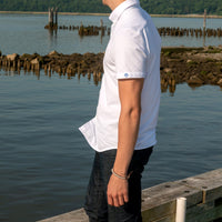 untuck(able) Knit White - Short Sleeves
