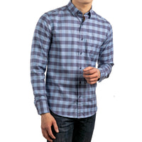 untuck(able) Big Blue Gingham