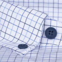 untuck(able) Tri-Blue Windowpane