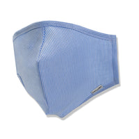 Menswear Mask - Blue Puppytooth