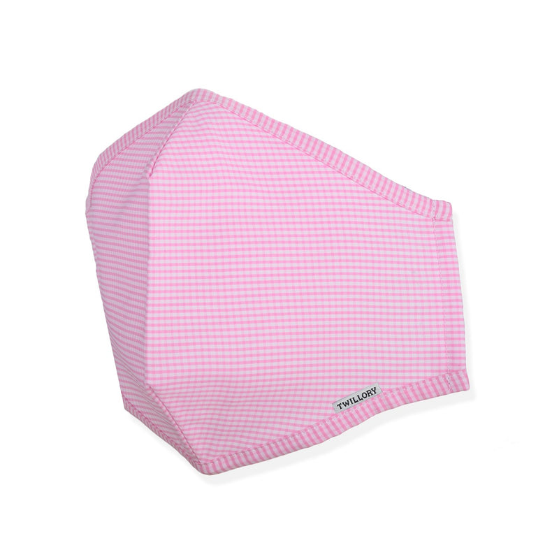 Menswear Mask - Pink Check