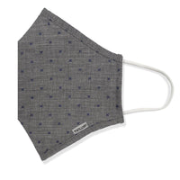 Menswear Mask - Grey Starburst