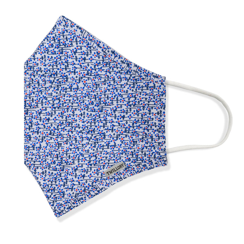 Menswear Mask - Forget-Me-Not