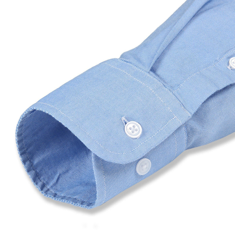 untuck(able) Blue Oxford