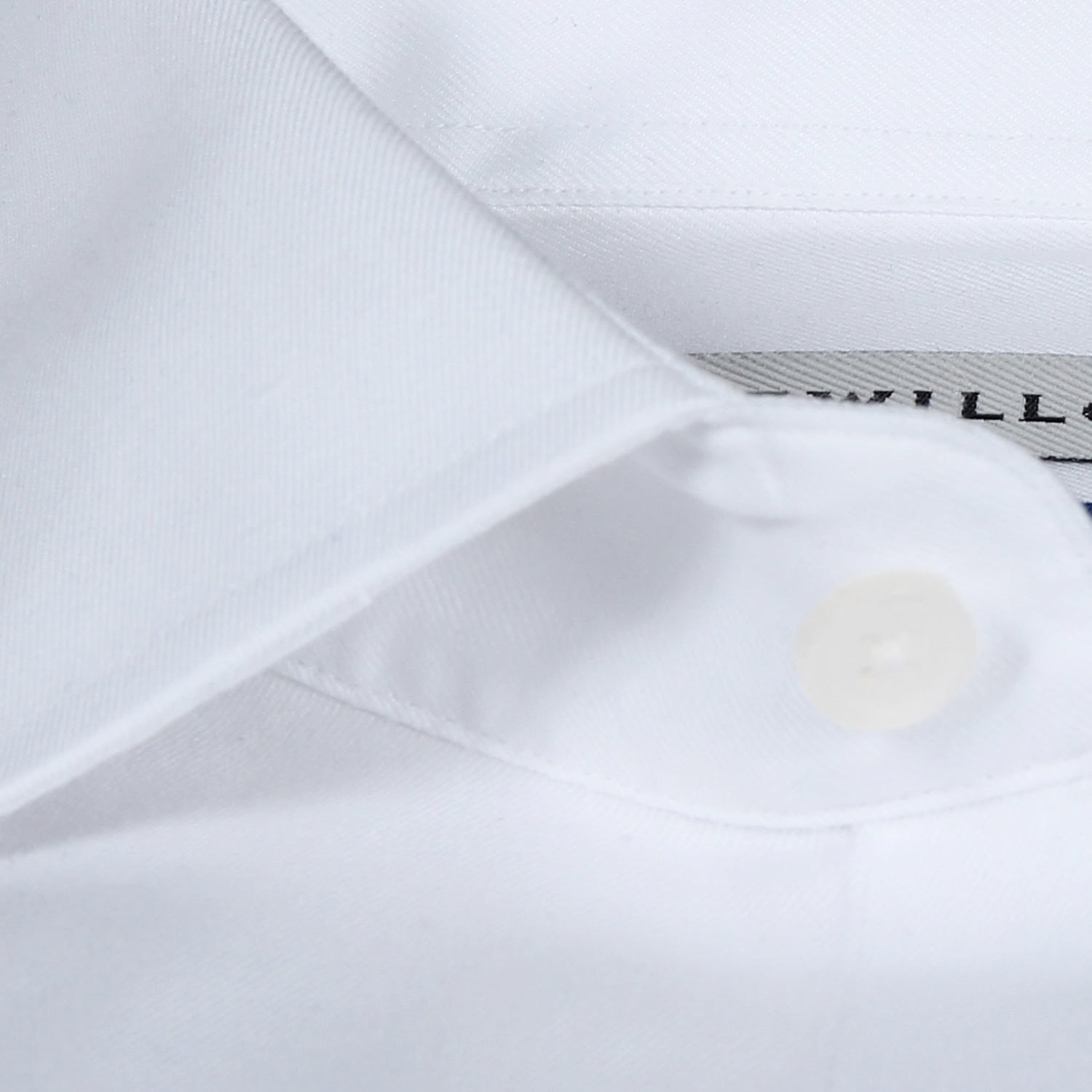 Non-Iron White Twill (Chest Pocket)