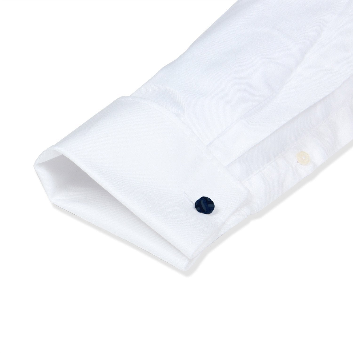 French Cuff Non-Iron White Twill
