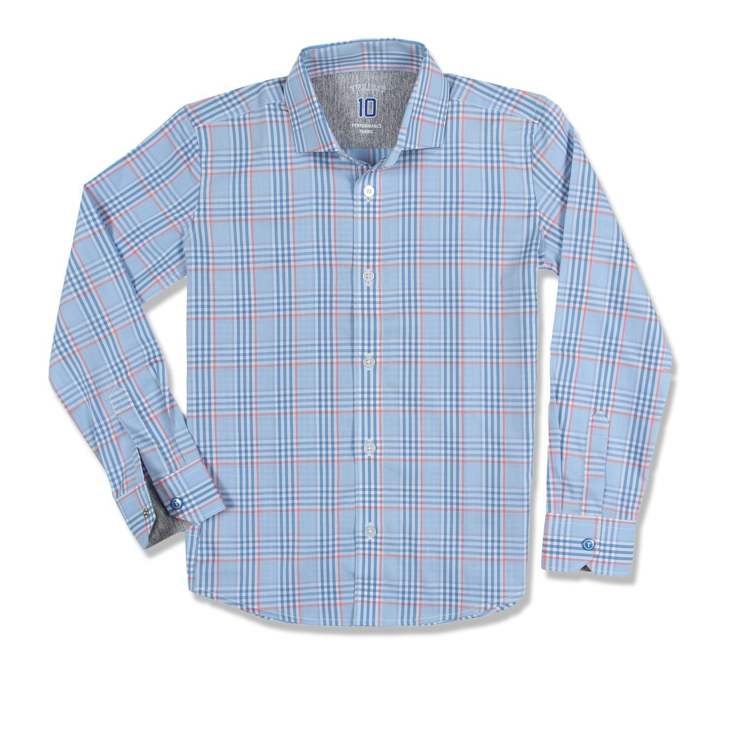 The worst part of looking sharp? The sharp parts: scratchy collars, itchy fabric, wrinkly fabrics. No wonder he doesn't want to wear button down shirts!   But not anymore. Meet the Twillory Performance Shirt , a game-changing hat trick of style and comfort that makes dressing well not just easy, but fun!
