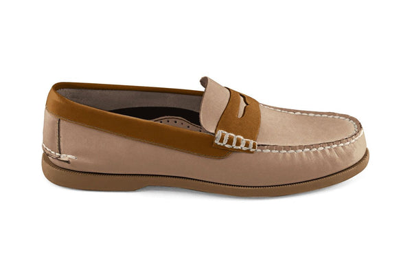 Bayana Penny Boat Shoe Tan-Toffee
