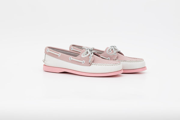 Women's Bayana Boat Shoe White-pink
