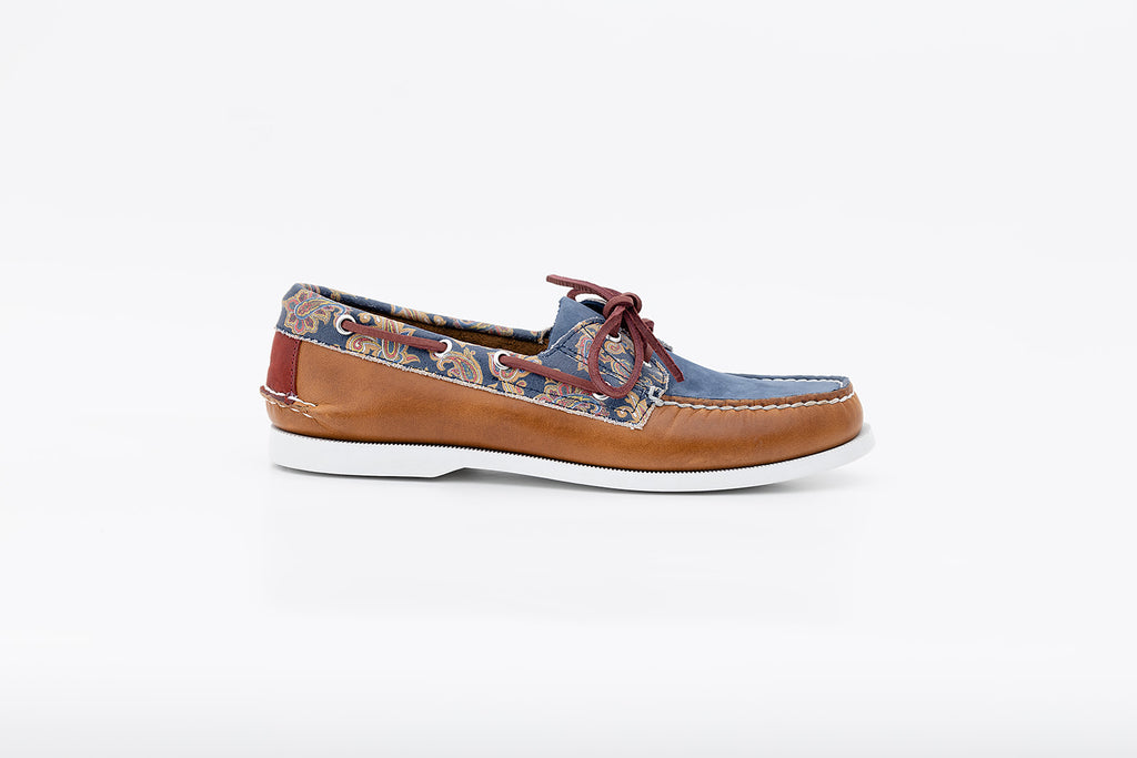 Bayana Boat Shoe Paisely