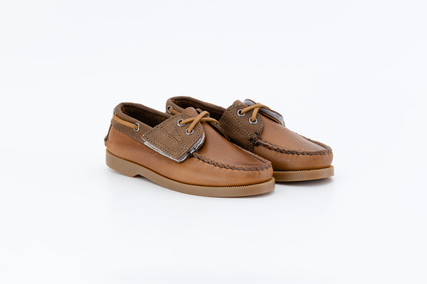 Bayana Boat Shoe Brown-Brown