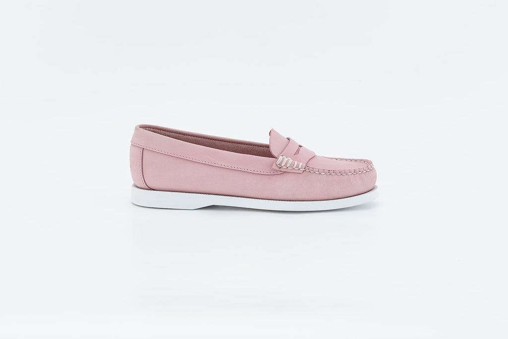 Bayana Penny Boat shoe Pink