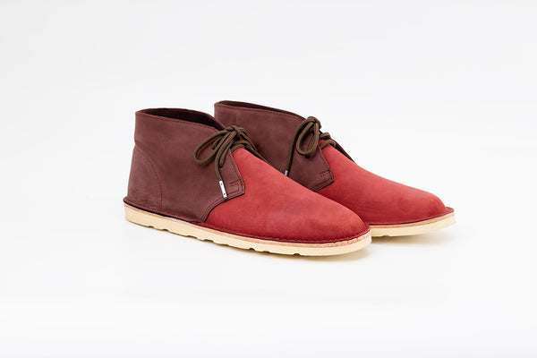 Neptune Chukka Boot Red-wine