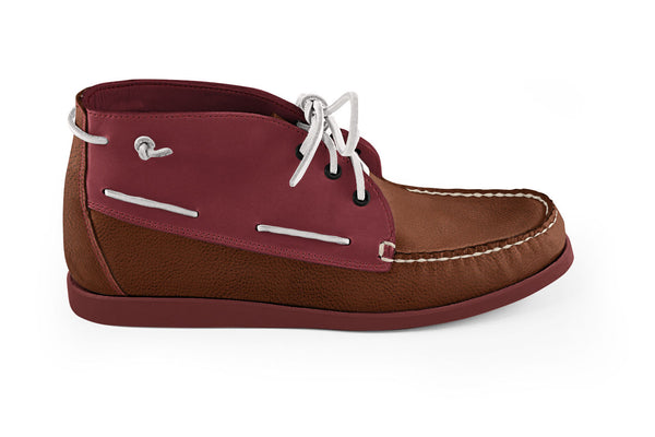 Camp Chukka Almond Graven-Brick Red