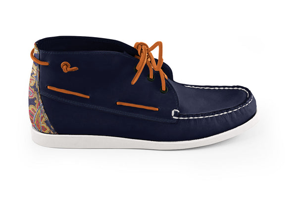 Camp Chukka Navy-Paisely