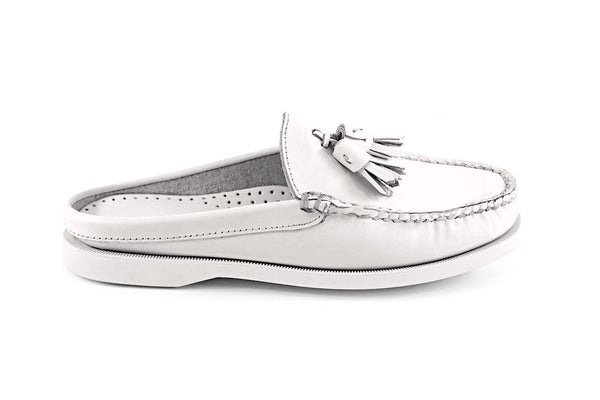 Women's Romana Mule Boat Shoe With Small Tassel