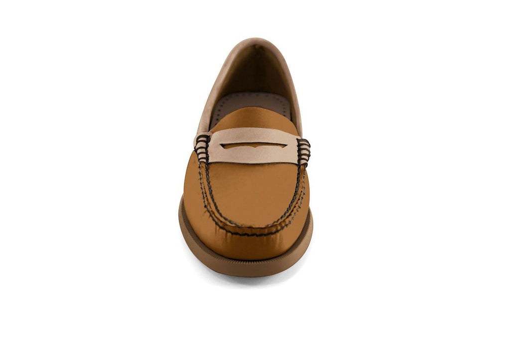 Bayana Penny Boat Toffee-Tan