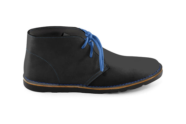 Neptune Chukka Boot Black-blue