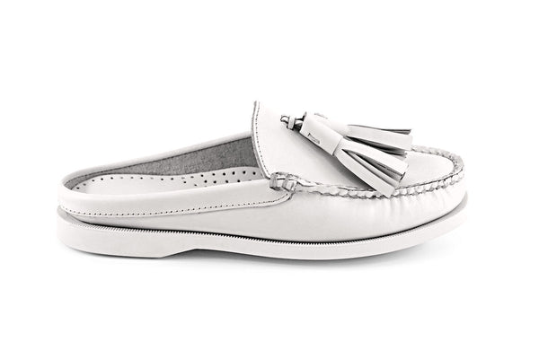 Women's Romana Mule Boat Shoe With Giant Tassel