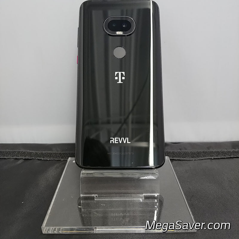 Great | T-Mobile Revvlry+ 64GB Black T-Mobile