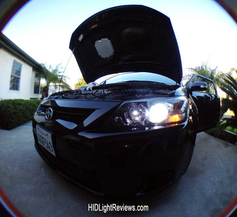 Scion TC HID lights