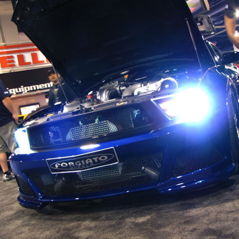 Ford Mustang with HID lights