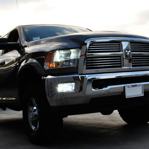 Ram Truck with HID lights