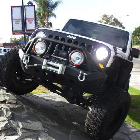 06-15 Jeep Wrangler HID Lights
