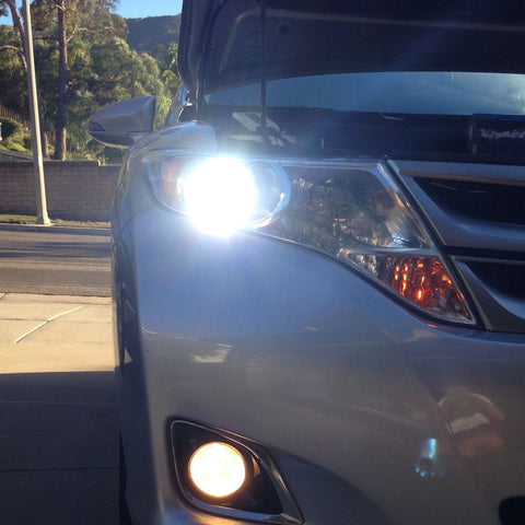 08-15 Toyota Venza HID lights
