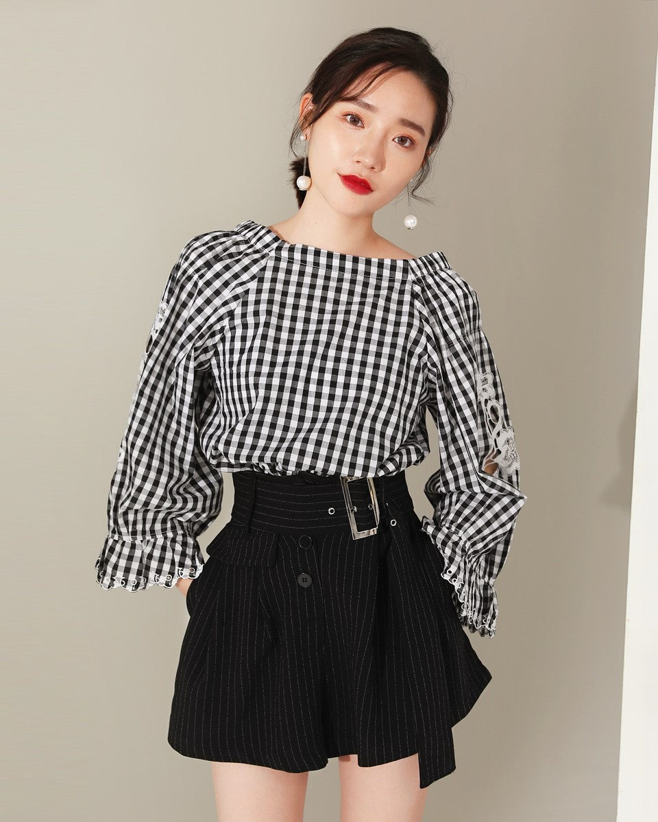 Off-The-Shoulder Top (171212)