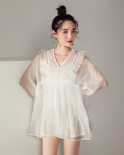 Ruffle Dolly Top (171246)