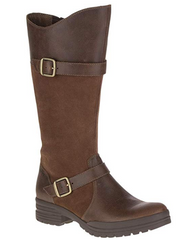 Tall Leather Snow Boot