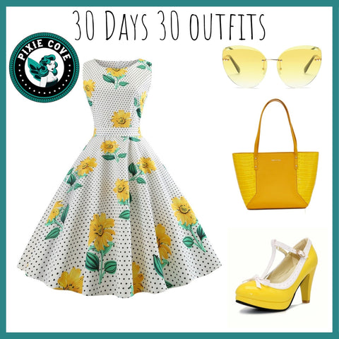 Mellow Yellow Sunday Outfit