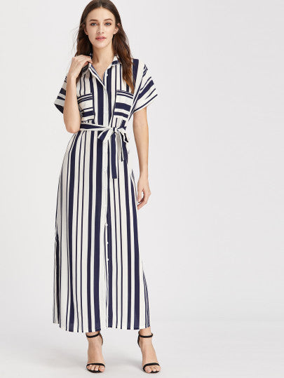 Never A Dull Moment Striped Dress For Sale | Pixiecove