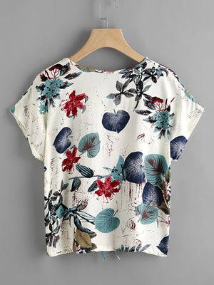 Heidi Jungle Printed Top