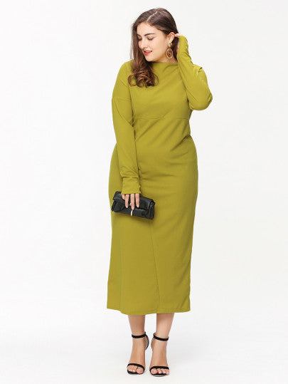 Talk Of The Town Oversized Maxi Dress  - Women Clothing Sale | Pixiecove