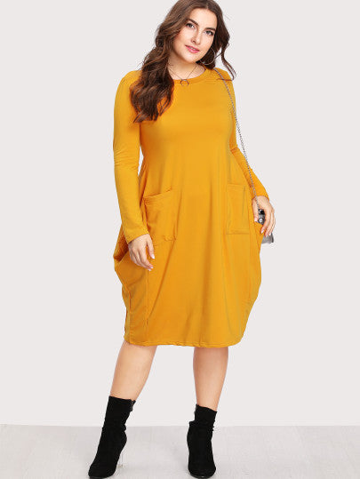 Skyler Dual Pocket Cocoon Dress