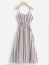 Nirvana Striped Cami Dress