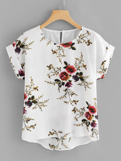 Can Only Be Floral Blouse