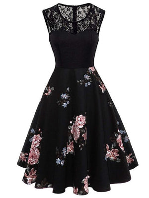 Sunday Afternoon Floral Print Dress - Women Clothing Sale | Pixiecove