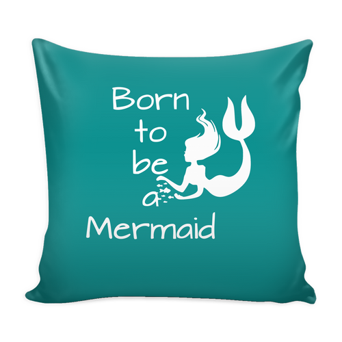 """Born to be a Mermaid"" Cushion Covers - Pixie Cove"