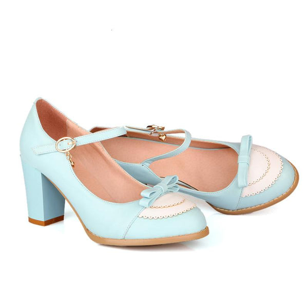 Clara Shoe with Bow - Pixie Cove