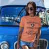 orange retro tshirt