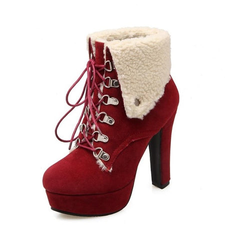 Maisie Boot - Faux Fur