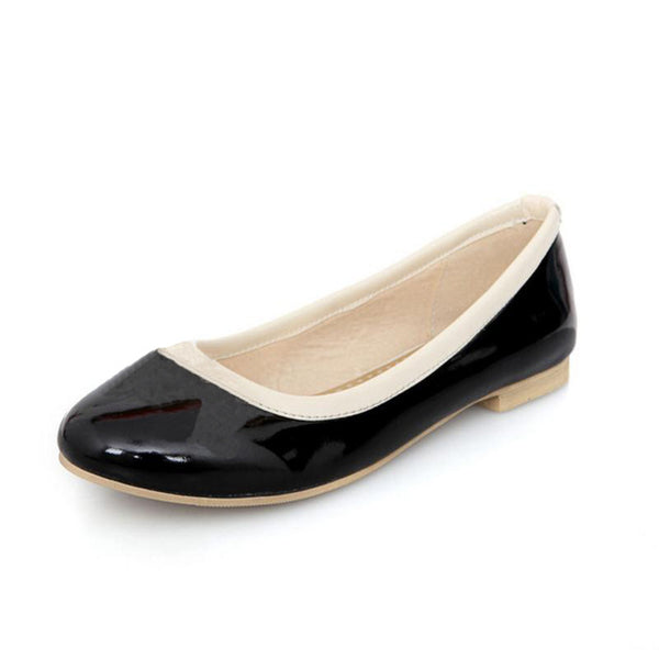 Brittany Flat Shoe - Black - Pixie Cove