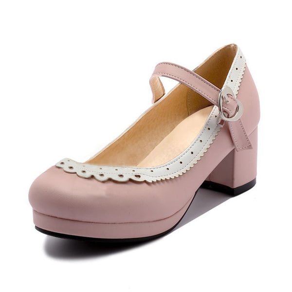 Hailey Shoe - Pink - Pixie Cove