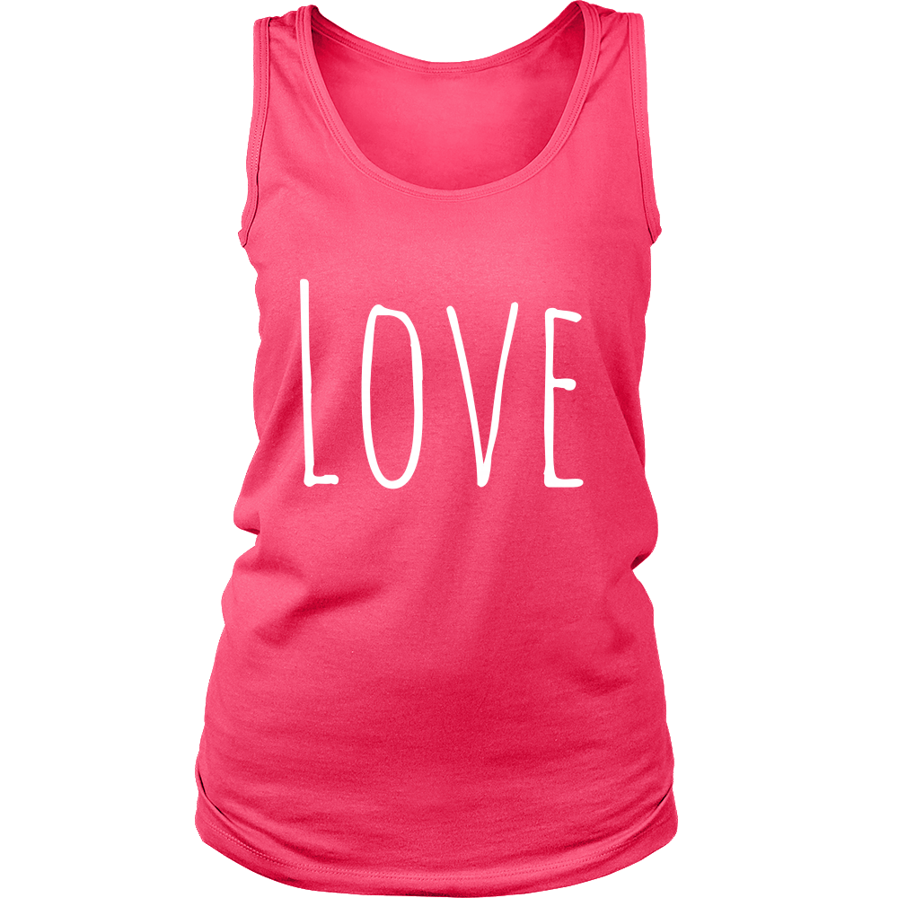 Love Tank Top - Women Tank Tops For Sale | Pixiecove