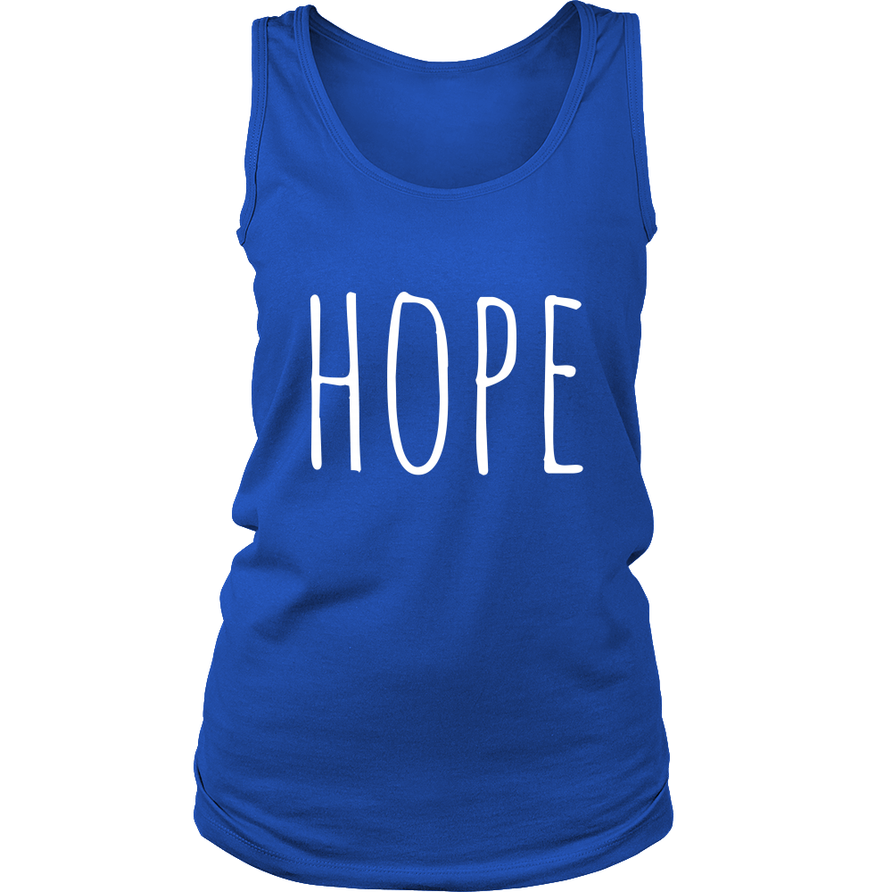 Hope Tank Top - Women Tank Tops For Sale | Pixiecove