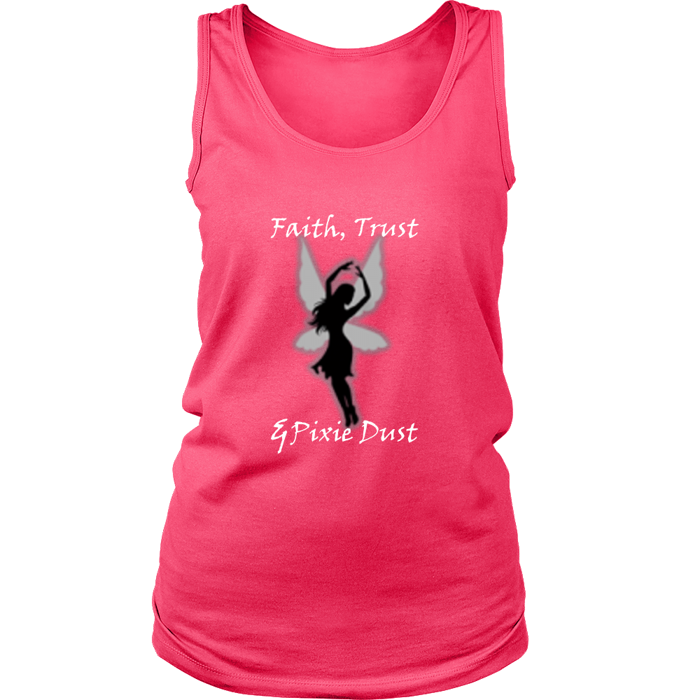 Faith Trust and Pixie Dust Tank Top - Women Clothing | Pixiecove